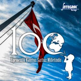 100'ncü Yılımız Kutlu Olsun